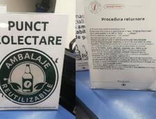 Informatii cu privire la procedura de returnare a ambalajelor reutilizabile, la Carrefour