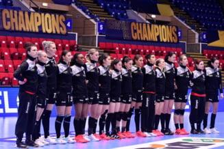 """Infrangere pentru CSM Bucuresti in ultimul meci din grupele Ligii Campionilor la handbal feminin. Chiar daca au terminat pe trei, """"tigroaicele"""" merg in optimi"""