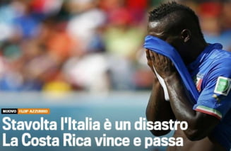 Infrangerea socanta a Italiei, in presa internationala: Dezastru!