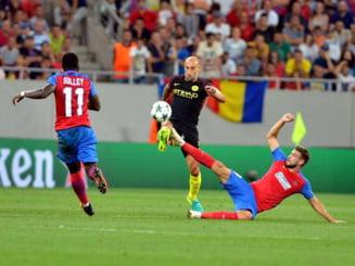 Ingrijorare la Steaua inaintea returului cu Manchester City: Nu vreau sa mergem sa ne facem de ras