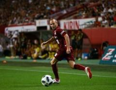 Iniesta a marcat o bijuterie de gol (Video)