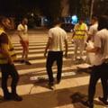 """Initiativa inedita intr-un oras din Romania: Zebra care-ti spune """"Ia-ti copilul de mana"""" si """"lasa telefonul"""""""