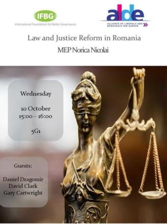 Initiativa marca ALDE: Dezbatere in Parlamentul European cu invitat special Daniel Dragomir, care propune ROEXITUL