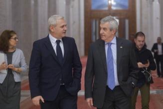 Intalnire Dragnea-Tariceanu, dupa ce Iohannis a refuzat sa o revoce din functie pe Kovesi