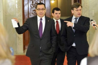 Intalnire Ponta-Antonescu: Liderii USL hotarasc soarta PNL la guvernare