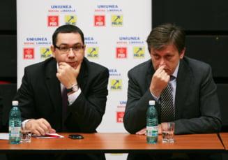 Intalnire Victor Ponta - Crin Antonescu, pe tema numirii lui Kovesi la DNA