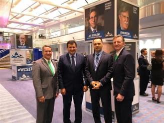 Intalnire a presedintelui PMP Cluj, senatorul Vasile-Cristian Lungu, cu membri ai Congresului SUA