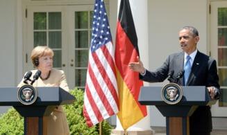 Intalnire-cheie intre Obama si Merkel: Primeste Ucraina arme sa lupte cu Rusia?