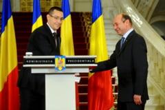 """Intalnire la Cotroceni. Basescu vrea consultari cu guvernul. Ponta, pentru Gandul: """"Merg singur"""""""