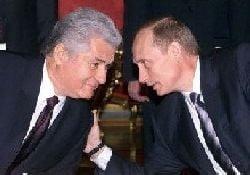 Intalnirea Voronin-Putin un mister, Kremlinul pastreaza tacerea