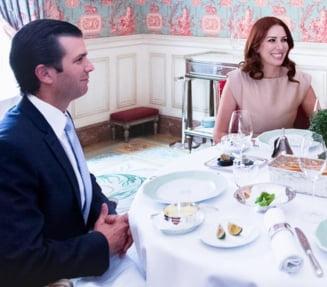 Intalnirea care arata apropierea lui Trump de Putin: Unul dintre fiii sai a discutat cu un politician sirian prorus