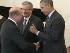 Intalnirea dintre Basescu si Obama de la Varsovia