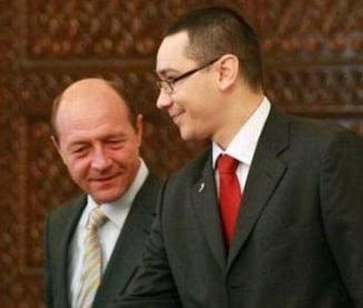 Intalnirea dintre Basescu si Ponta a fost programata pentru joi