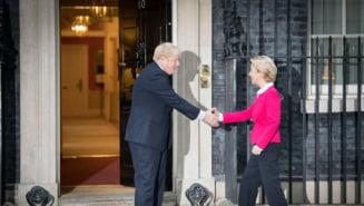 Intalnirea dintre Boris Johnson si Ursula von der Leyen, incheiata fara a ajunge la o intelegere