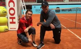 Intariri pentru Simona Halep: Sportiva noastra s-a reunit cu Darren Cahill la Madrid