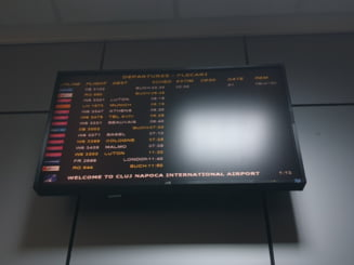 Intarziere de 4 ore pentru avionul Cluj-Bucuresti: Bataie de joc! Avem dreptul la despagubiri!