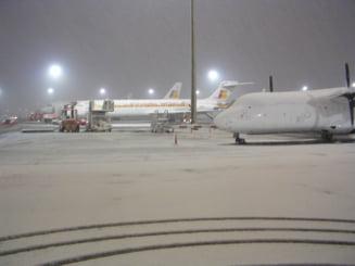 Intarzieri de 30 de minute din cauza vremii, pe Aeroportul Otopeni