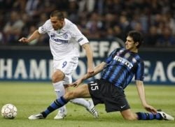 Inter, umilita de Schalke in Liga Campionilor. Chivu, la pamant!