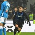 Inter castiga in prelungiri marele derbi cu Napoli. Oaspetii nu au profitat de pasul gresit al lui Juventus (Video)