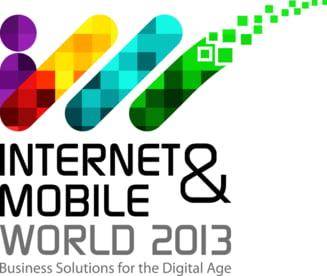 Internet & Mobile World 2013 aduce peste 20 de aplicatii si solutii de business