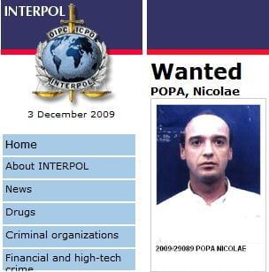 Interpol: 12% dintre urmaritii la nivel mondial sunt romani