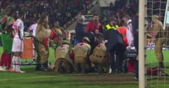 Interventie de urgenta in Portugalia: 10 medici si asistenti au actionat pentru a salva un fotbalist
