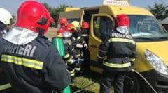 Interventie dificila a pompierilor: copil blocat intr-un canal de scurgere dintr-o localitate din Suceava