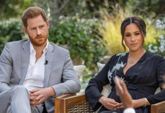 Interviul acordat de printul Harry si sotia lui pentru emisiunea lui Oprah Winfrey, cifre importante de audienta