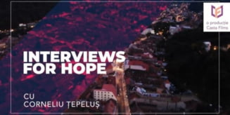 Interviuri pentru speranta cu harghiteanul Corneliu Tepelus si brasoveanca Cristina Rad