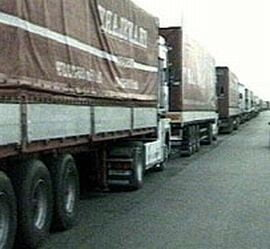 Interzis la camioane pe DN 66, in Gorj