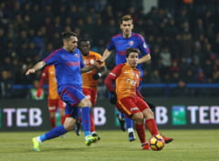 Intr-un meci cu sase romani pe teren, Galatasaray a invins dramatic Karabukspor (Video)