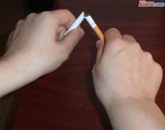 Intra in vigoare legea anti-fumat. Cine are dreptul sa ii amendeze pe fumatori si cu cat