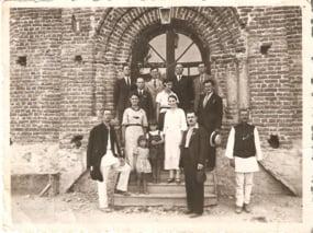 Intrarea Ateneului la 1934
