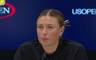 Intrebarea care a iritat-o pe Maria Sharapova: Rusoaica s-a enervat cand a auzit de testul antidoping