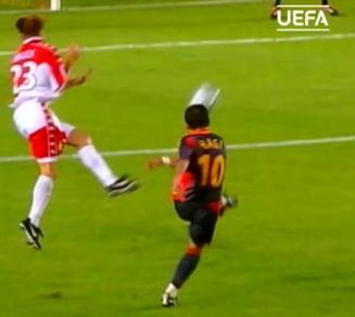 """Intrebarea zilei vine de la UEFA: """"Este Hagi cel mai bun fotbalist din istoria lui Galatasaray?"""""""