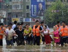 Inundatii in China: Aproape 100 de morti