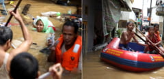 Inundatii in Indonezia: Cel putin 23 de oameni au murit (Foto&Video)