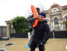 Inundatii puternice la Paris: O parte a Muzeului Luvru a fost inchisa
