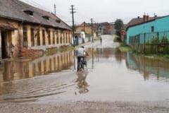 Inundatiile au facut ravagii in judetul Giurgiu
