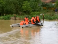 Inundatiile fac ravagii in nordul tarii: Sute de case afectate si mii de hectare sub apa