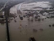Inundatiile fac ravagii si morti pe litoralul Marii Negre