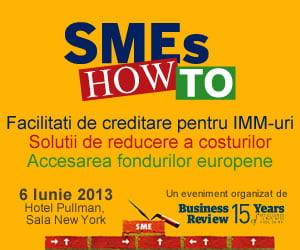 Invata cum sa-ti finantezi afacerea la conferinta SMEs How To