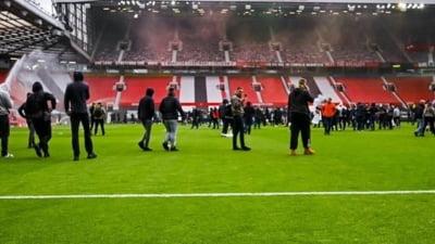 """Invazia fanilor lui Manchester United nu ramane fara urmari. Ce risca gruparea de pe """"Old Trafford"""""""