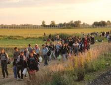 Invazia imigrantilor: Stare de criza la granita Romaniei