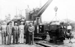 Inventia unui roman a deschis un nou drum in dezvoltarea cailor ferate. Instalatia a fost pusa la dizpozitia Chinei si RDG-ului FOTO