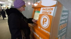 Inventie ruseasca pe timp de criza: ATM-ul care ofera credite instant