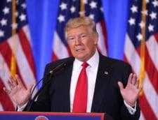 Investirea lui Donald Trump, dupa chipul lui: multe forte de ordine, boicoturi si zeci de proteste