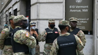 Investirea lui Joe Biden: Unele efective ale Garzii Nationale desfasurata la Washington, autorizate sa poarte arme