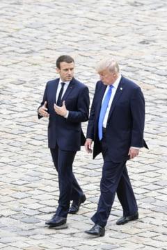 Invitarea lui Trump la Paris, o lovitura de maestru. Ce face, de fapt, Macron
