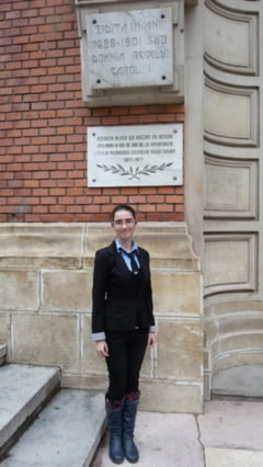 """Ioana Bouros, de la """"Costache Negri"""" la Oxford!"""